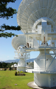 The Naval Computer and Telecommunications Area Master Station, Pacific in Wahiawa, Hawaii.の写真素材 [FYI02106405]