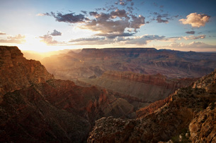 Grand Canyon, west of Lipan Point, Arizona.の写真素材 [FYI02106458]