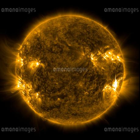 Solar activity on the Sun.の写真素材 [FYI02106974]
