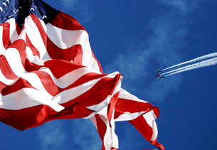 The Blue Angels performing at an air show during El Paso Navy Week.の写真素材 [FYI02107222]