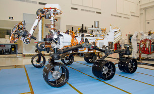 Mars Science Laboratory rover, Curiosity.の写真素材 [FYI02107411]