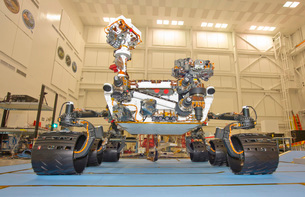Mars Science Laboratory rover, Curiosity.の写真素材 [FYI02107456]