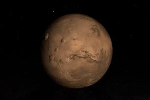 Planet Marsの写真素材 [FYI02107575]