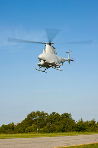 An MQ-8B Fire Scout unmanned aerial vehicle.の写真素材 [FYI02107620]