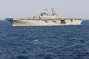 The amphibious assault ship USS Essex.の写真素材 [FYI02107772]