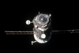 The Progress 46 spacecraft.の写真素材 [FYI02107857]