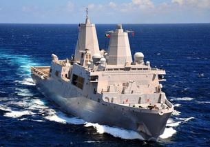 USS Green Bay transits the Indian Ocean.の写真素材 [FYI02107911]