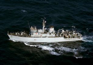 The Royal Navy mine countermeasures ship HMS Quorn.の写真素材 [FYI02108167]