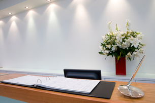 Reception deskの写真素材 [FYI02118342]