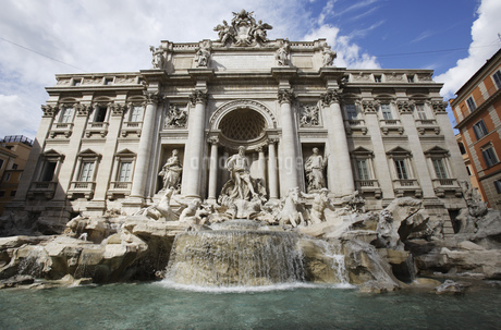 Trevi fountain, Rome, Italyの写真素材 [FYI02125481]