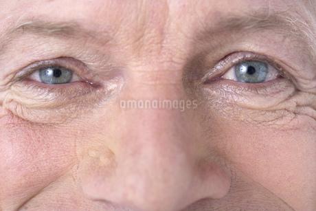 Close up of senior man's eyesの写真素材 [FYI02127569]