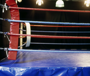 View of a boxing ringの写真素材 [FYI02127808]