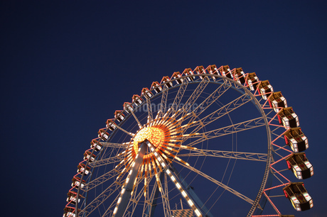 Amusement park rides in Munichの写真素材 [FYI02127982]