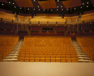 Empty auditoriumの写真素材 [FYI02128132]