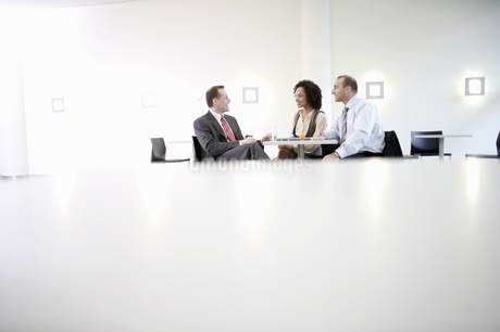 Businesspeople having meetingの写真素材 [FYI02129573]