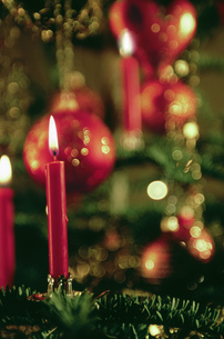 Detail view of Christmas decorationsの写真素材 [FYI02130285]