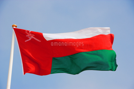Flag of Omanの写真素材 [FYI02131890]