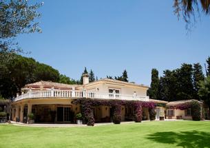 Spanish villaの写真素材 [FYI02146430]