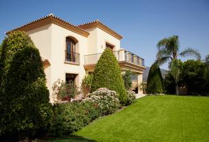 Spanish villaの写真素材 [FYI02147634]