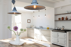 Luxury kitchenの写真素材 [FYI02154595]