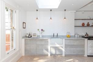 Rustic luxury kitchenの写真素材 [FYI02156360]