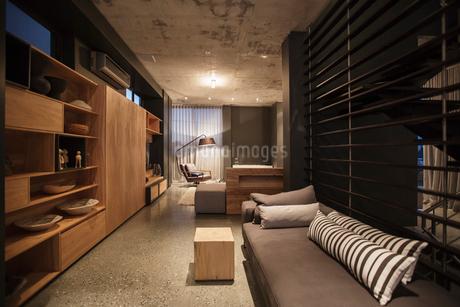 Modern living roomの写真素材 [FYI02159344]