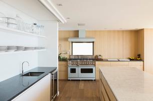 Modern kitchenの写真素材 [FYI02160759]