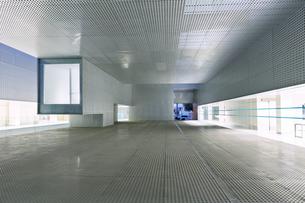 Illuminated windows of modern office buildingの写真素材 [FYI02162326]