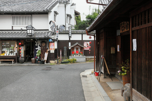 奈良町の町並みの写真素材 [FYI02166877]