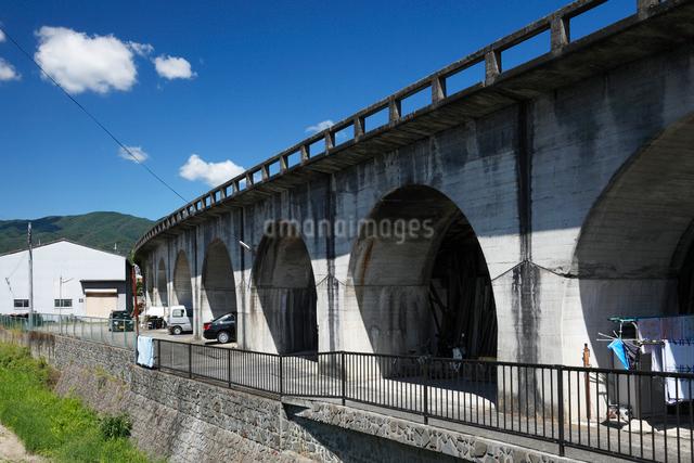 五條新町の五新鉄道跡の写真素材 [FYI02166890]
