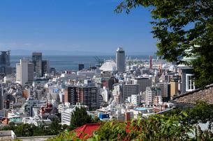 港みはらし台からの神戸市街の写真素材 [FYI02169694]