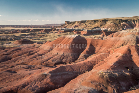 Painted Desert Petrified Forest National Park, Arizona United Statesの写真素材 [FYI02170365]