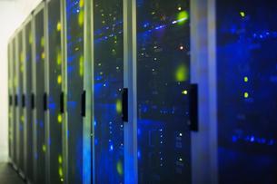 Server room panelsの写真素材 [FYI02171389]