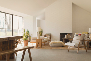 Home showcase living roomの写真素材 [FYI02172455]