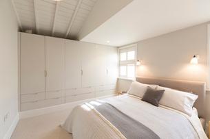 Luxury home showcase bedroomの写真素材 [FYI02180044]