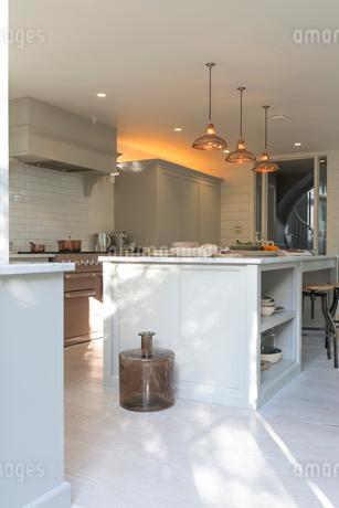 Luxury home showcase kitchenの写真素材 [FYI02180278]