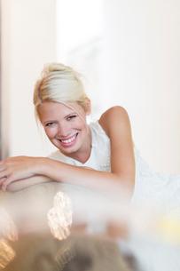 Smiling womanの写真素材 [FYI02187216]