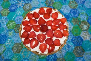 Strawberry's cakeの写真素材 [FYI02192129]