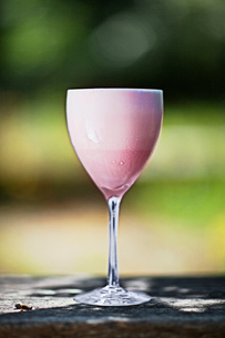 Sweden, Close-up of drink in wine glassの写真素材 [FYI02193144]