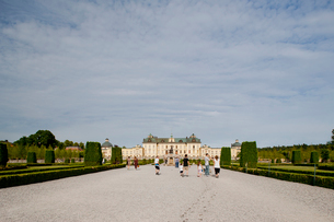 Sweden, Stockholm, Front view of Drottningholm Palaceの写真素材 [FYI02193326]