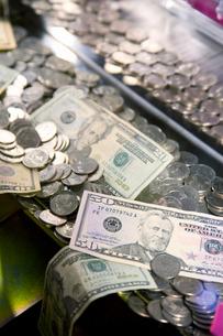 Caribbean, Close-up of moneyの写真素材 [FYI02193692]