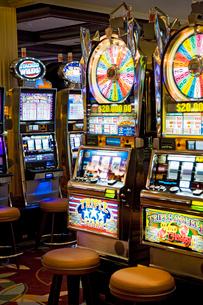 Caribbean, Close-up of casino wheelの写真素材 [FYI02194512]