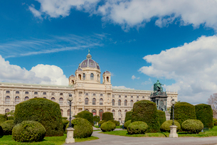 Austria, Vienna, View of Museum of Natural Historyの写真素材 [FYI02195531]