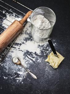 Sweden, Baking ingredients and toolsの写真素材 [FYI02195747]