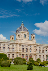 Vienna, Austria, View of Museum of Natural Historyの写真素材 [FYI02196045]