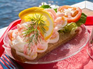 Shrimp sandwichの写真素材 [FYI02196115]