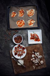 Pizza's preparationの写真素材 [FYI02197458]