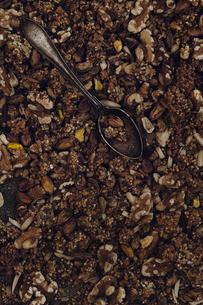 Studio shot of variation of nutsの写真素材 [FYI02197894]