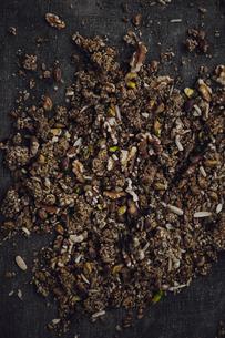 Studio shot of variation of nutsの写真素材 [FYI02197974]