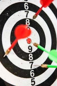 View of dartboardの写真素材 [FYI02198678]